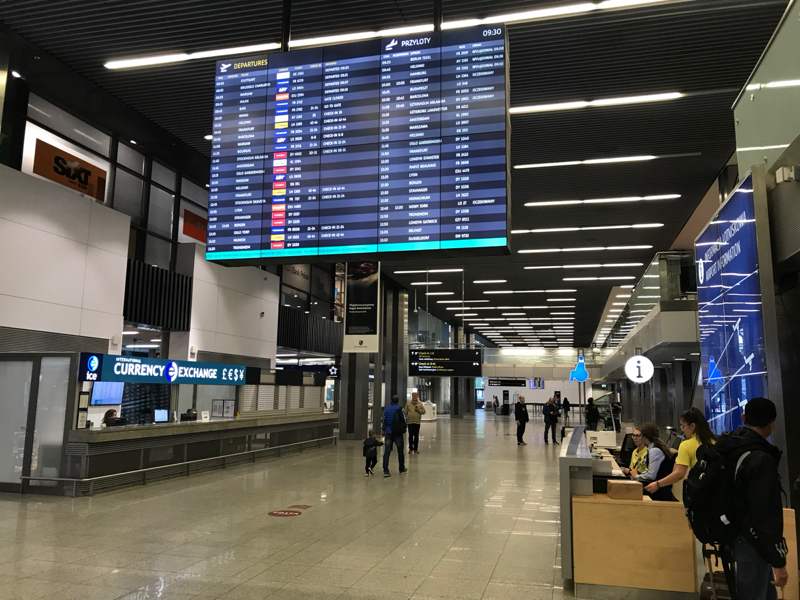 Departure board Departures Hall
