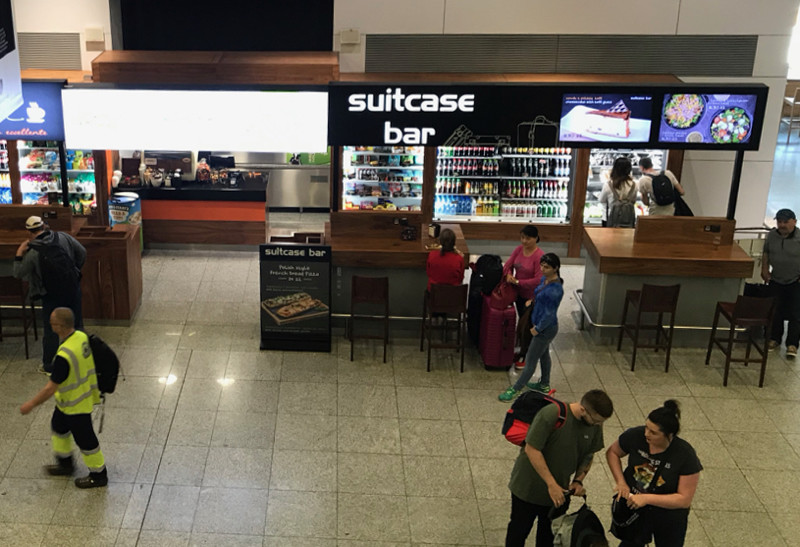 The Suitcase Bar