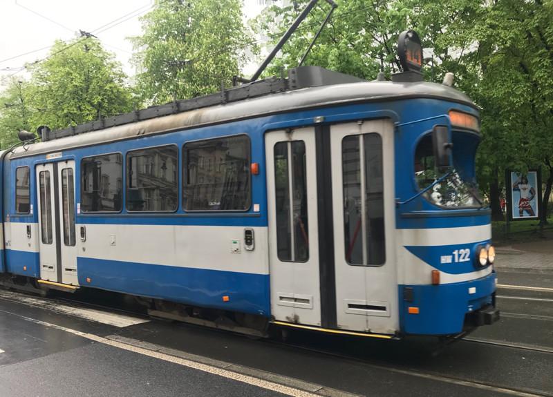Vintage Krakow tram