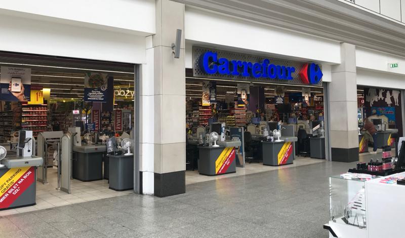 Carrefour supermarket Galeria Krakowska