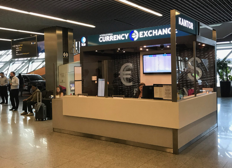 Currency Exchange Krakow Airport