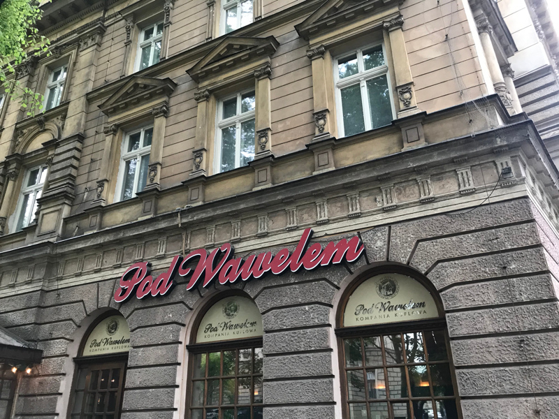 Pod Wawelem Restaurant