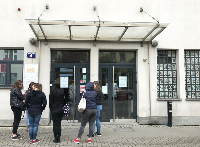 Entrance to Schindler's Factory