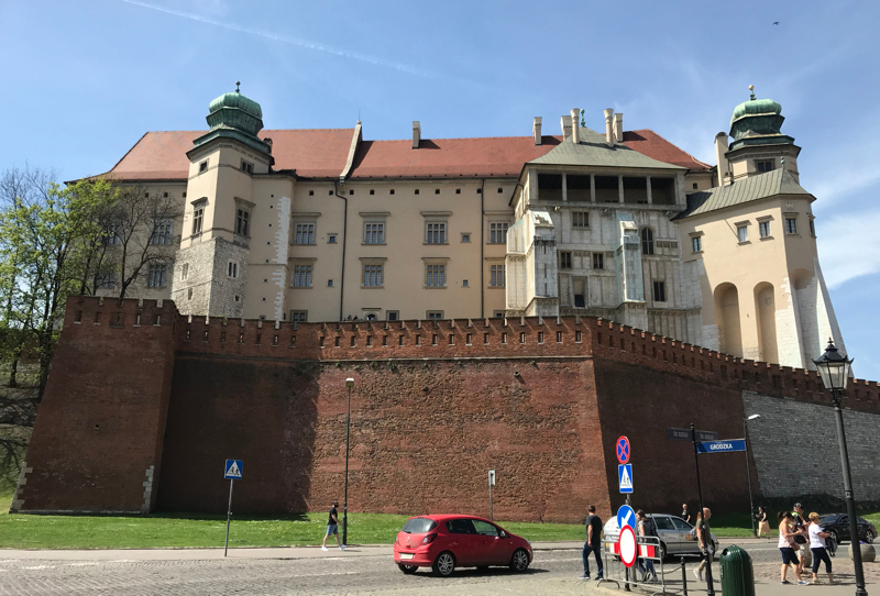 Wawel Hill From Grodzka Street