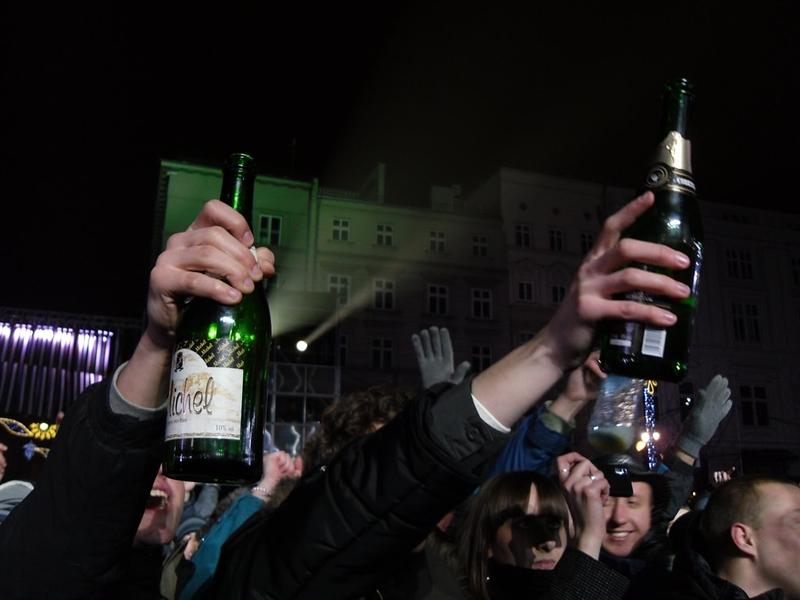 Polish champagnes, copyright Piotr Drabik