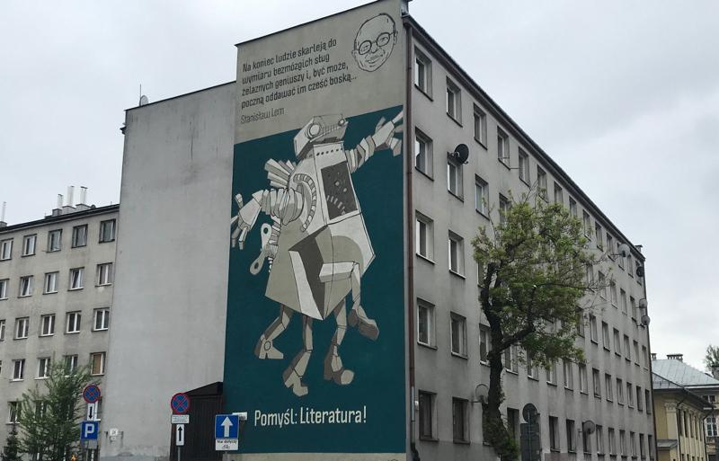 Mural in Podgórze