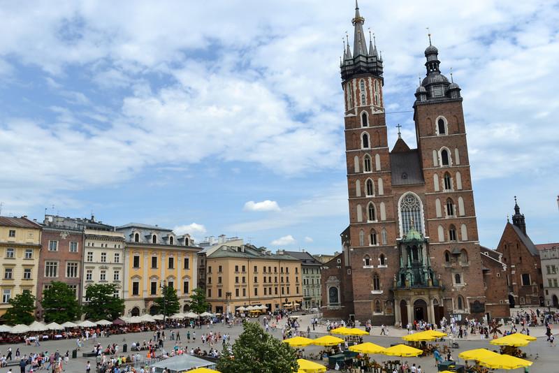 Rynek Glowny - Main Square Krakow