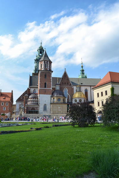 Courtyard View of Wawel Castle