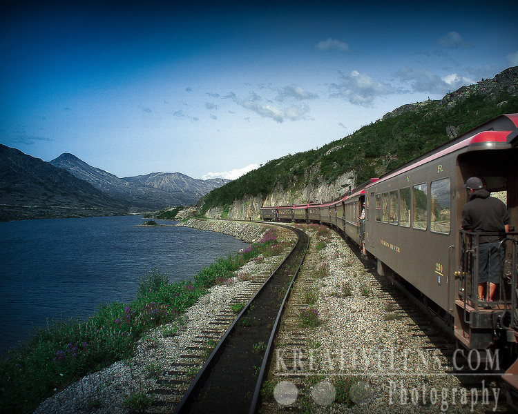 Train ride at Skagway (White Pass and Youkon Route)