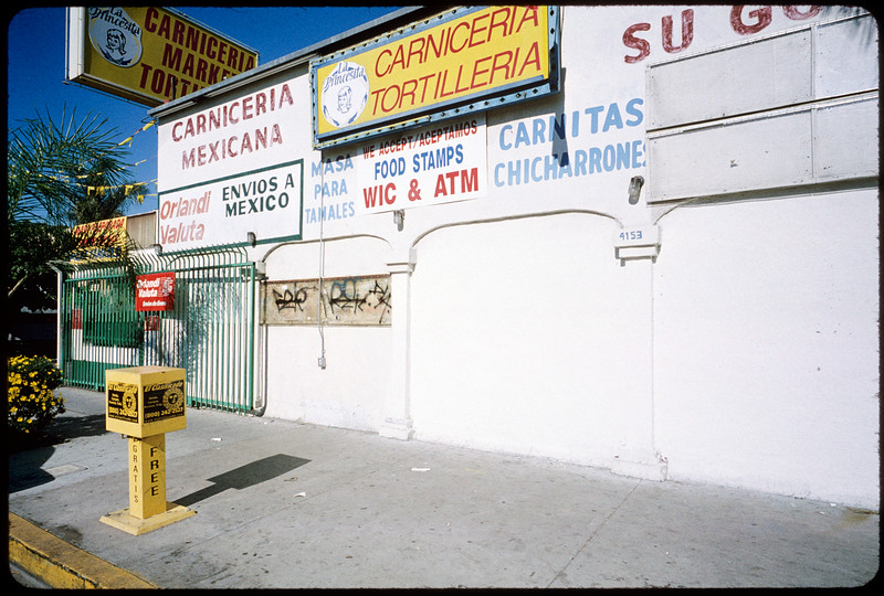 Businesses along Alhambra Avenue to East Cesar Chavez Avenue, Los Angeles, 2004