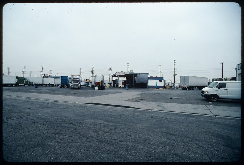 Truck stops, Ontario and Los Angeles, 2004