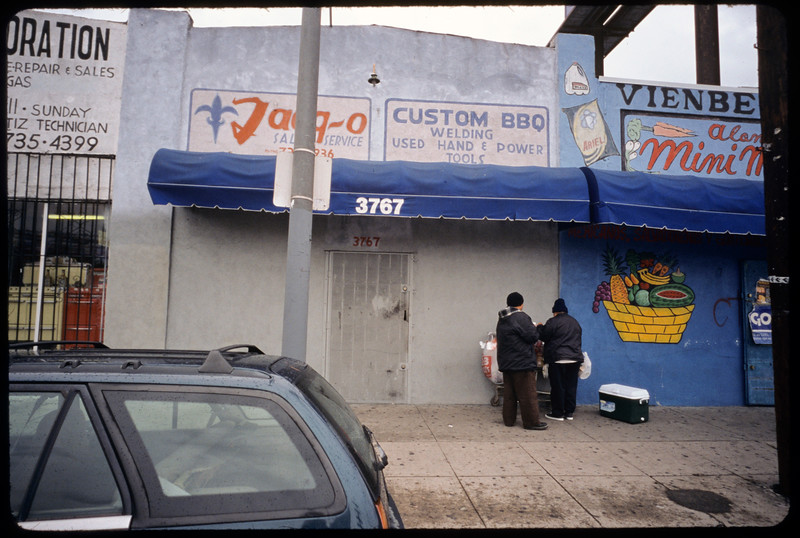 Storefront churches, commercial strip, etc., Los Angeles, 2004