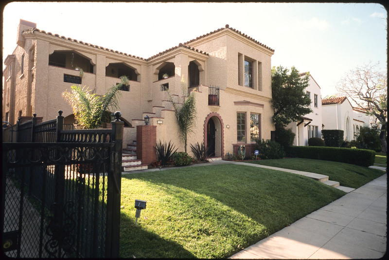 Multiple dwelling units along Hayworth Avenue, Los Angeles, 2005