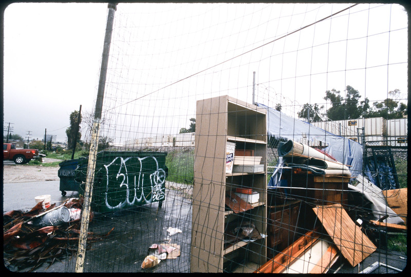 Buildings and business along Alhambra Avenue, Los Angeles, 2005