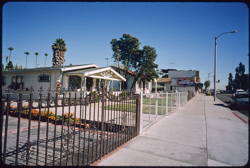 Businesses along East Cesar Chavez Avenue, Los Angeles, 2004