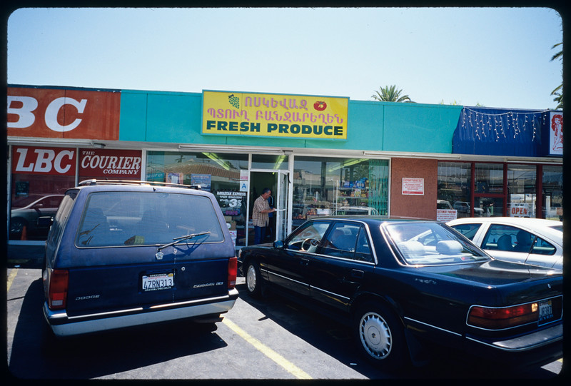 Stores in Little Armenia and Thaitown, Los Angeles, 2004