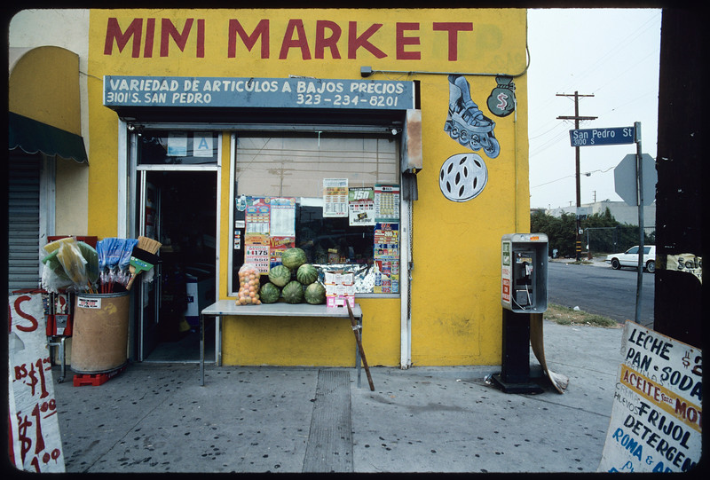 L.A Gun Club and a minimarket, Los Angeles, 2004