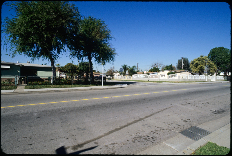 Industrial, commercial and residential buildings on Central Avenue from Rush Street to Alpaca Street, South El Monte, 2005
