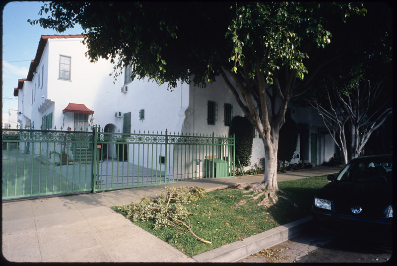 Multi-dwelling units along Hayworth Avenue, Los Angeles, 2005