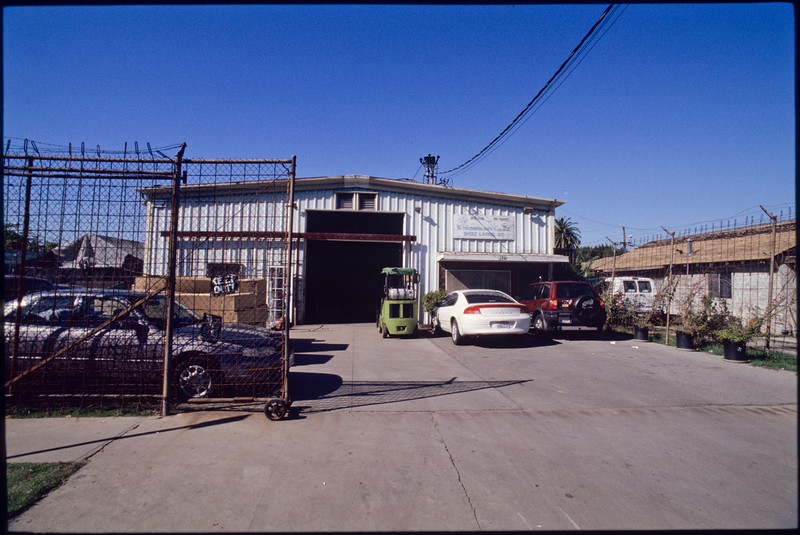Industrial sites on the west side of Alameda Street from 96th Place to 92nd Street and back to Laurel Street, Los Angeles, 2004