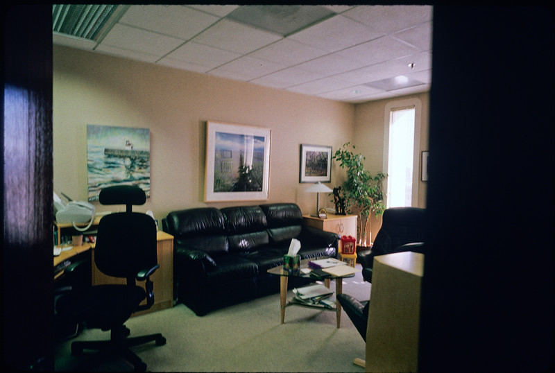 Psychiatrist's office [Steven S. Schenkel, Ph.D.], Los Angeles, 2004