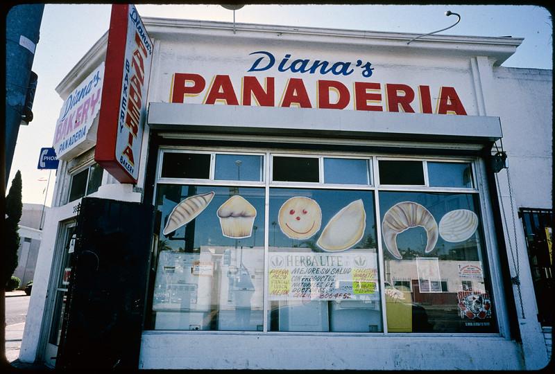 Businesses along Alhambra Avenue to East Cesar Chavez Avenue, Los Angeles, 2004
