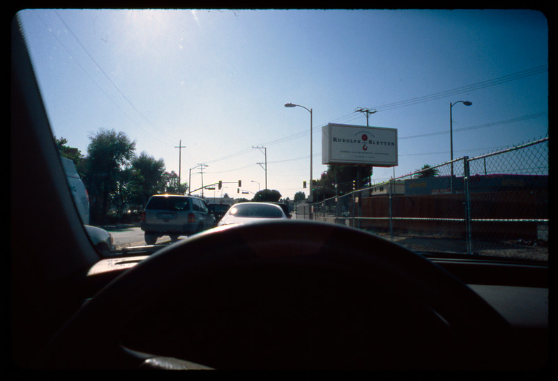 Driving to University of Southern California, Los Angeles, 2005