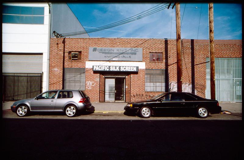 Industrial buildings along Staunton Avenue, Los Angeles, 2003