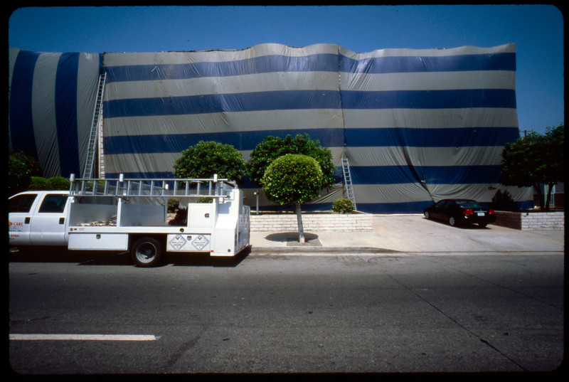Wrapped multiple dwelling unit (MDU), Los Angeles, 2005