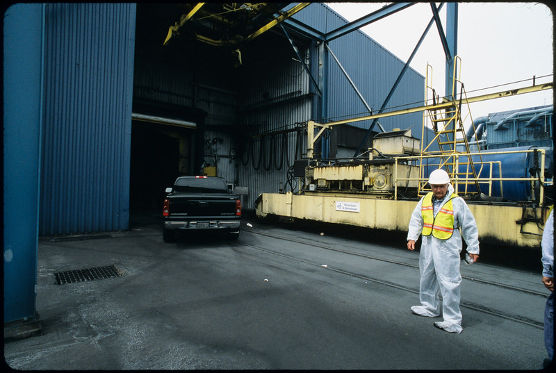 Bulk shipping at Metropolitan Stevedore Company, Long Beach, 2005