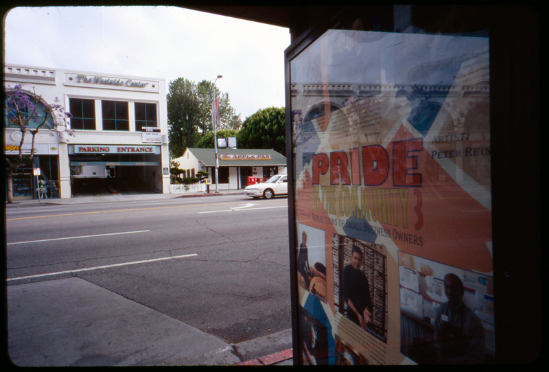 Reiss posters in situ, Los Angeles, 2005