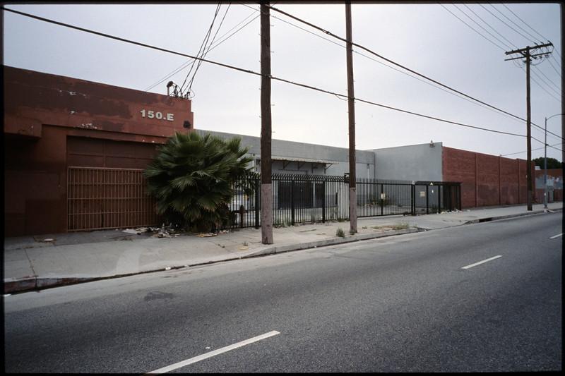Industrial buildings along East Jefferson Boulevard, Los Angeles, 2005