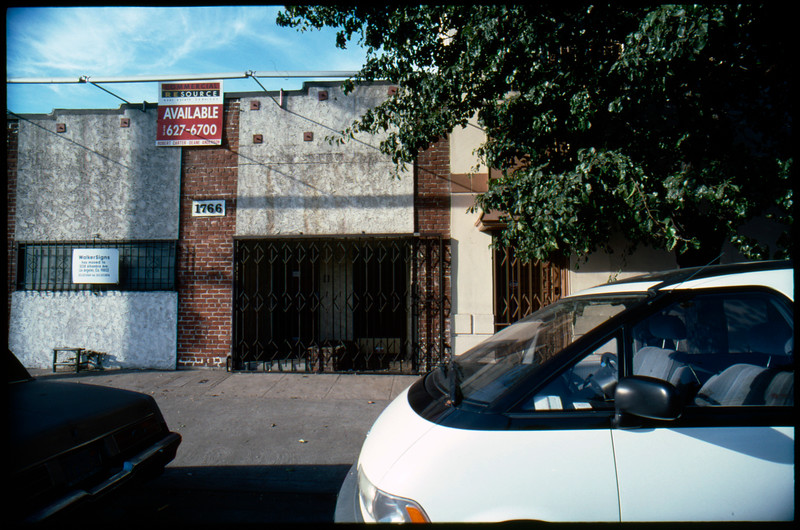 Industrial buildings along South Alameda Street between 16th Street and 15th Street, Los Angeles, 2003