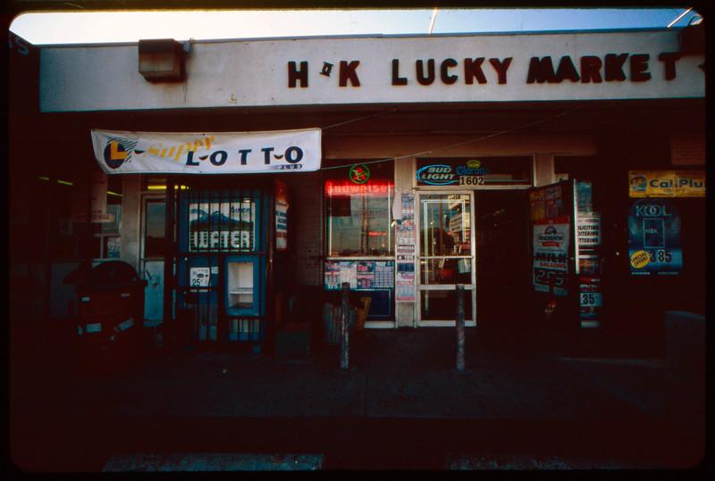 H & K Lucky Market & Liquor, and Taco Man, Los Angeles, 2005