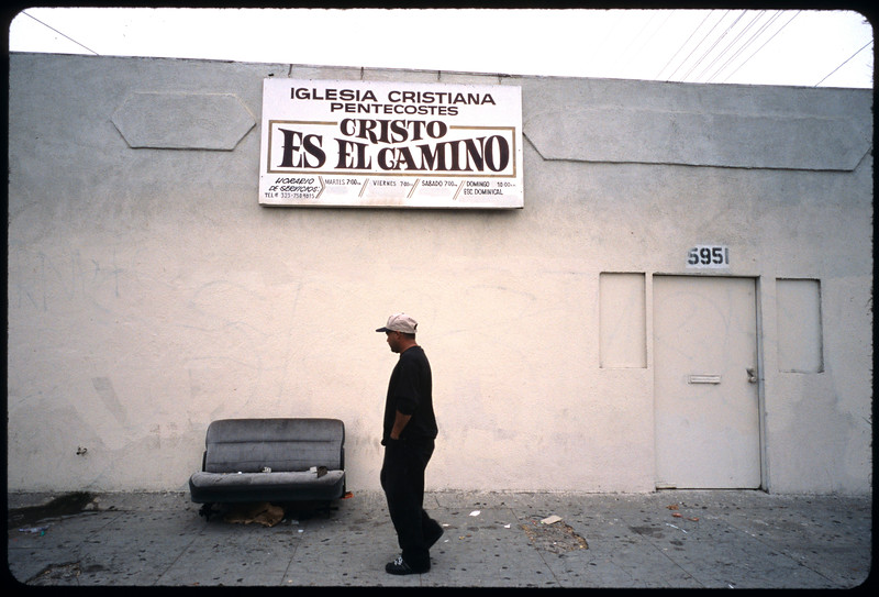 Industrial and residential sites, storefront churches, etc., Los Angeles, 2005