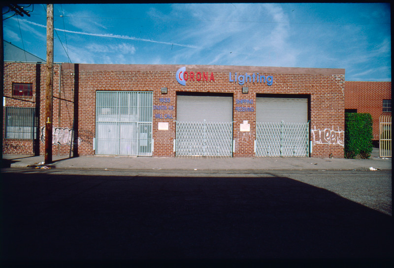 Industrial buildings along Staunton Avenue, Los Angeles, 2003