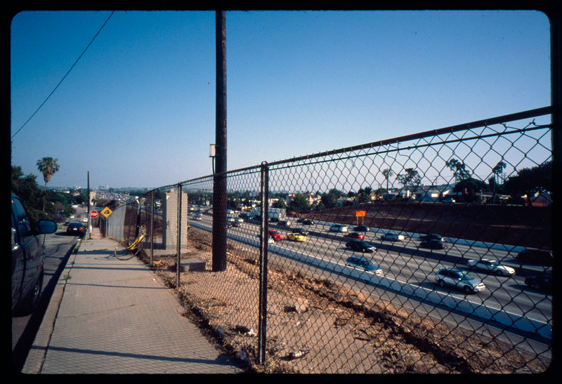 Traffic on Olympic Boulevard, Los Angeles, 2005