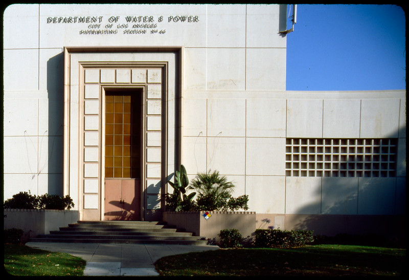 Department of Water and Power Distribution Stations, Los Angeles, 2003