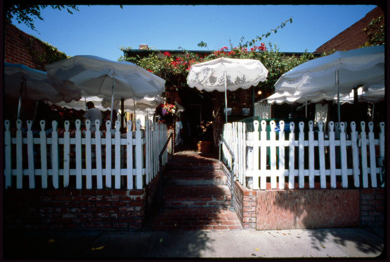 The Ivy Restaurant, Los Angeles, 2005