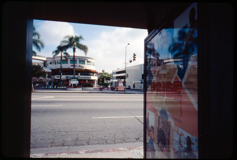 Reiss poster in situ, Los Angeles, 2005