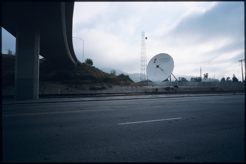 Department of Water and Power facilities in Sylmar and entrance to 1300 North Beverly Drive and also Lake Drive,  Los Angeles, 2005