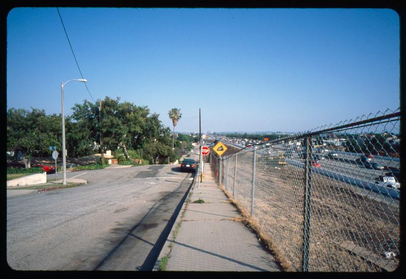 Traffic on Olympic Boulevard, Los Angeles, 2005