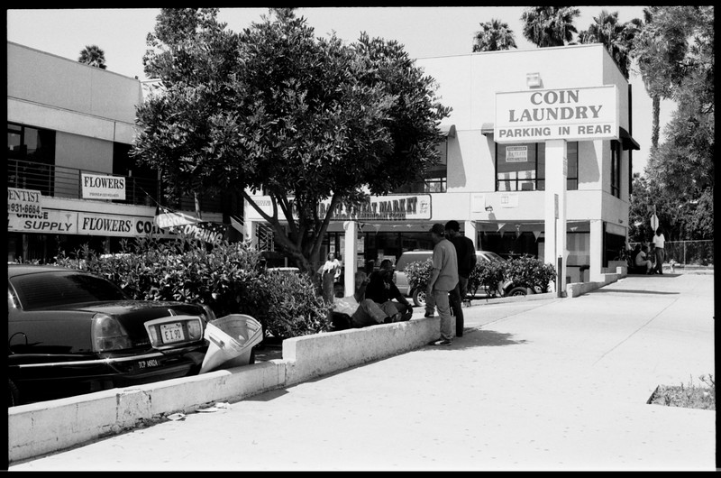 Industrial and commercial sites, commercial shoot, and day laborers, Los Angeles, 2005