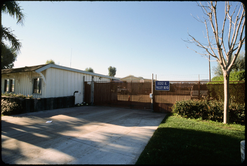 Residential development around Turnbull Canyon Road and Valley Boulevard to Proctor Avenue, City of Industry, 2005