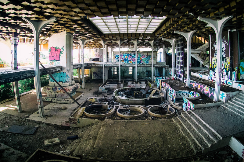 used to be a hotel