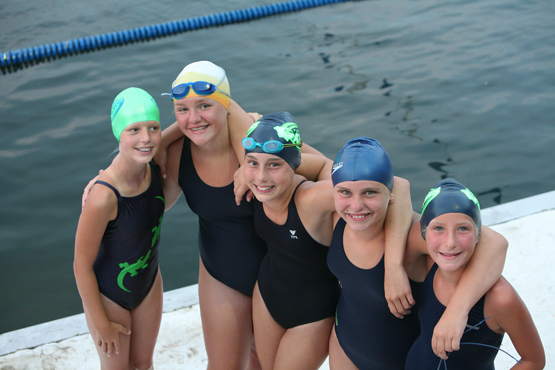 Kristen's swim Meet August 8,2007