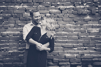 Kristi and Scott's Engagement session at Lodo on 8/10/17