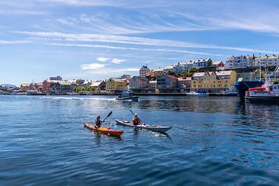 Kayaking Kristiansund