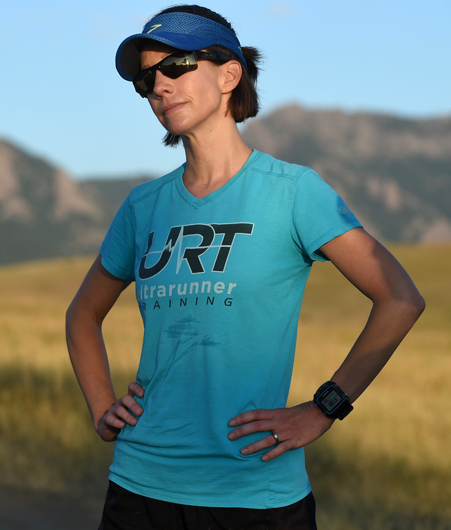. Kristin Gablehouse, of Lafayette, suffered a brain injury after a cycling accident in 2015. She\'s been on the road to recovery and returning to running ultramarathons.  Cliff Grassmick  Staff Photographer September 12, 2017