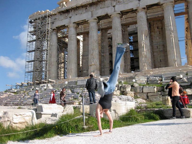 Kristin Weiss - Acropolis, Athens, Greece